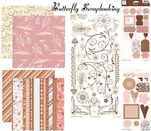 Heidi Grace Designs Collection 12X12 Scrapbooking Kit