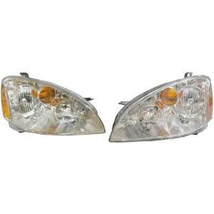 ALTIMA HEADLIGHT ASSEMBLY LEFT (DRIVER SIDE) (WITHOUT HID) 2002 2004