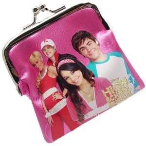High School Musical Mini Coin Purse Wallet Dark pink Toys