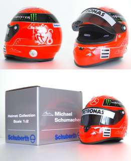 Michael Schumacher F1 Ferrari Formula1 GP Mercedes One Helmet Racing