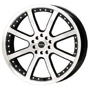 Liquid Metal Stinger Series Silver Wheel with Machined Face (18x8