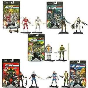 G.I. Joe 25th Anniversary Action Figure Comic Packs Wave 7