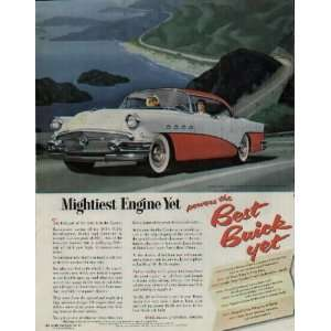 Mightiest Engine Yet, powers the Best Buick Yet! .. 1956 Buick Ad