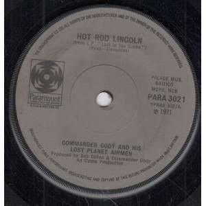 HOT ROD LINCOLN 7 INCH (7 VINYL 45) UK PARAMOUNT 1971