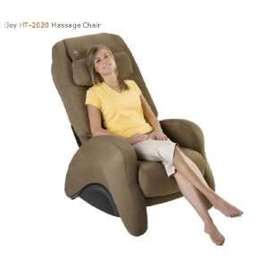 HT  2620 Massage Chair by Human Touch   Cashew SofSuede