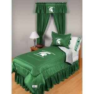 Michigan State University Spartans Bedding Twin Set