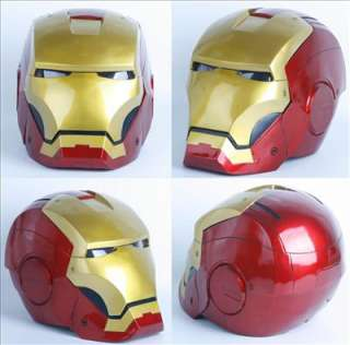 Scale Cosplay Iron Man II (face opened) Helmet Mask