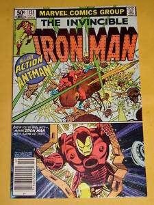 Iron Man #151 VF/NM Ant Man app Layton art Marvel 1981