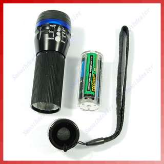Portable 3 Modes Zoom Focus LED Flashlight Torch Lamp