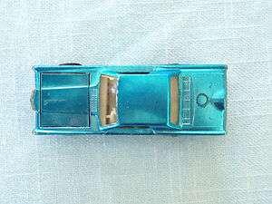 redline light blue custom continental mark III, white int. NICE