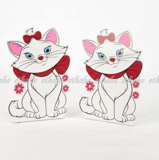 Disney Marie Cat Figure Bookends Book Ends 2pcs E1G1HA
