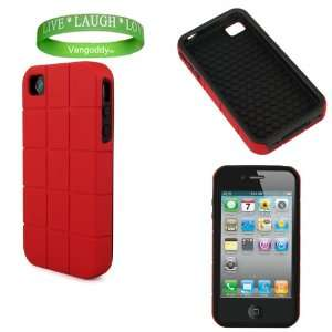 Apple iPhone 4S Designer Case Dual Layered Cover with Shock Absorbent
