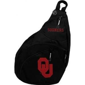 Oklahoma Sooners Black Slingshot Backpack Sports