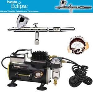 Iwata Eclipse HP CS 4207 Airbrushing System with Smart Jet