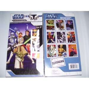 27 Star Wars The Clone Wars Lenticular Holgraphic