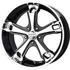 New 20X9 5x139.7 LIQUID METAL Dyno Black Wheels/Rims