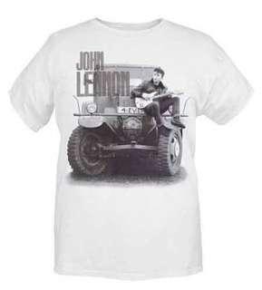The Beatles 4 For Ever Jeep Car John Lennon T Shirt