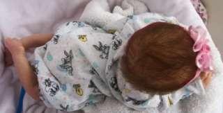 Clara by Toby Morgan reborn baby girl life like doll fake baby Limited