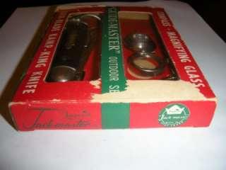 1957 Vintage KAMP KING Pocket Knife IMPERIAL KNIFE GUIDE MASTER