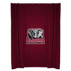 Collegiate Alabama Crimson Tide Locker Room Shower Curtain