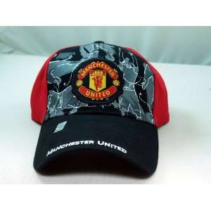 FC MANCHESTER UNITED OFFICIAL TEAM LOGO CAP / HAT   MU004