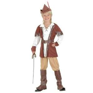 Pams Childrens Robin Hood Fancy Dress Costume   Small Size
