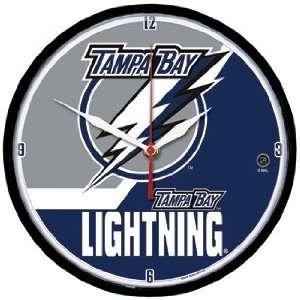 NHL Tampa Bay Lightning Team Logo Wall Clock