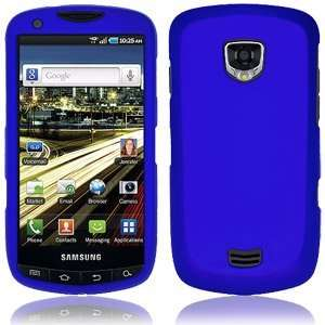 High Quality Amzer Rubberized Blue Snap Crystal Hard Case