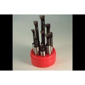 Shank 9 Pc Precision Carbide Tip Boring Bar Set