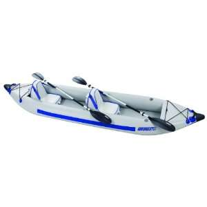 Sea Eagle Fast Track 2 Person Inflatable Kayak Deluxe Package (385