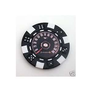 Ford Mustang Speedometer Las Vegas Casino Poker Chip Everything Else