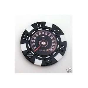 Ford Mustang Speedometer Las Vegas Casino Poker Chip