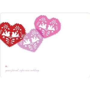 Hearts, Doves and Paper Cutouts for Valentines Day