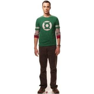 The Big Bang Theory Sheldon Cooper 74 X 21 Inch Cardboard Cut out