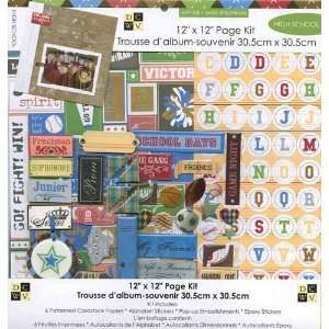 Die Cuts with a View   12 x 12 Page Kit   High School