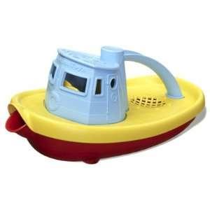 Green Toys Eco Friendly BPA Tugboat Bath Toy Blue Toys & Games