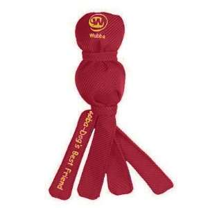Kong Wee Wubba Dog Fetch Toy Dogs Best Friend   Red Pet