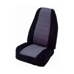 Smittybilt 47522 Black/Charcoal Front Center Neoprene Seat Cover