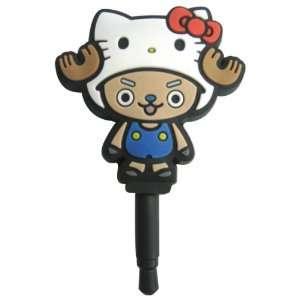 Sanrio Hello Kitty x One Piece Charapin Earphone Jack