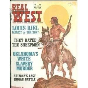 Real West Magazine Aug 1970 Yellowstone Kelly Arizona