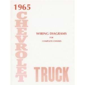 1965 CHEVROLET TRUCK Wiring Diagrams Schematics