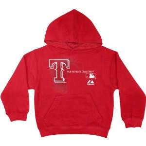 Texas Rangers Toddler Red AC MLB Change Up Hooded Fleece