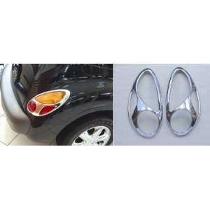 2001 2010 Chrysler PT Cruiser Chrome Tail Light Covers