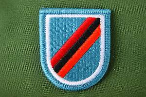 Flash & Oval Set, 28th Airborne Pathfinder Infantry Det