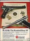 1990 STURM, RUGER Mark II Government Target Pistol AD