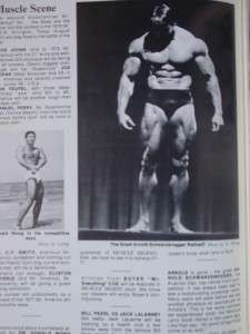Rare MUSCLE DIGEST bodybuilding fitness magazine/DAVE JOHNS Issue #2