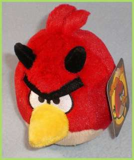 Angry Birds Seasons 5 Devil Plush Toy Limited Time Only