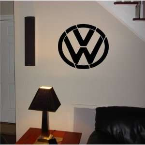 WALL VOLKSWAGEN EMBLEM LOGO DECAL STICKER ART 24