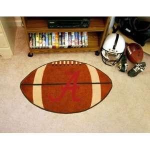 Alabama Crimson Tide 22 x 35 Football Mat Sports