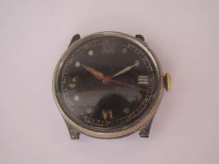 SWISS Military WWII War Army Officers Wrist Watch Collectible
